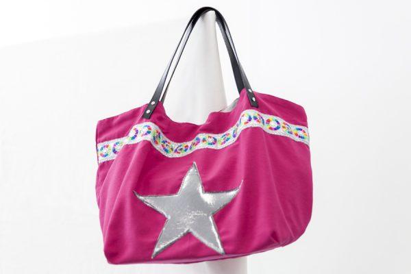 Bolso Cabas rosa